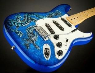 fender-lozeau-limited-edition-stratocaster-electric-guitar-blue-dragon-3