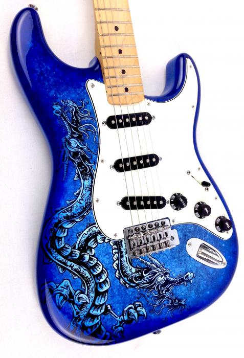 fender-lozeau-limited-edition-stratocaster-electric-guitar-blue-dragon